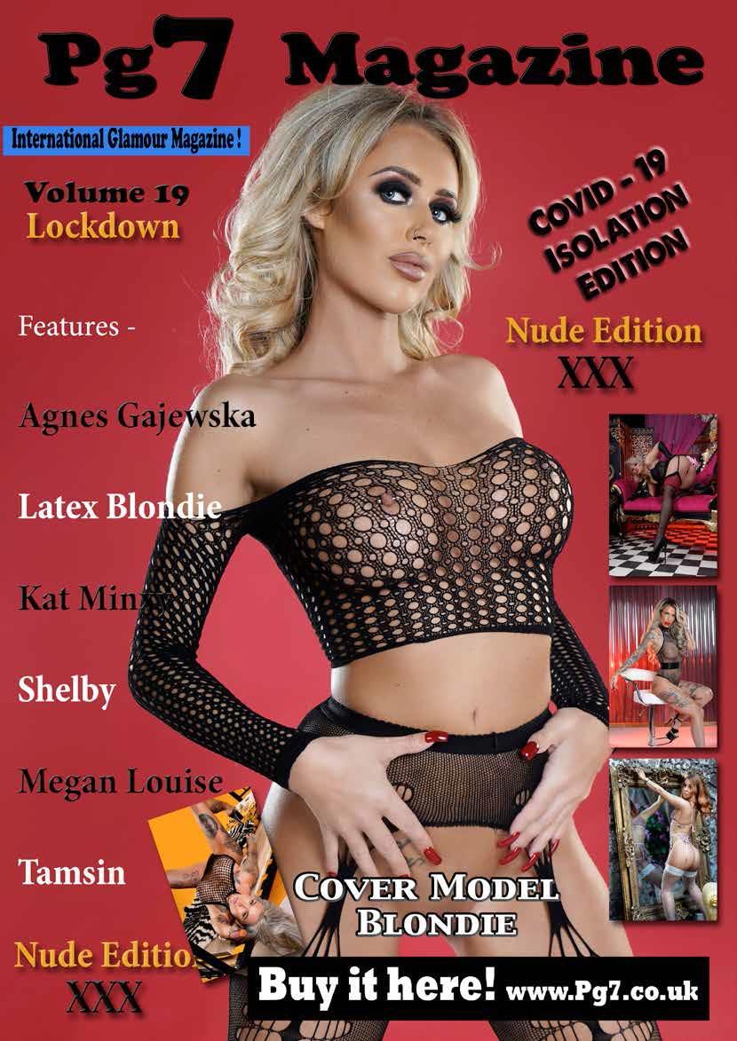 Pg7 Magazine volume 19 featuring Blondey
