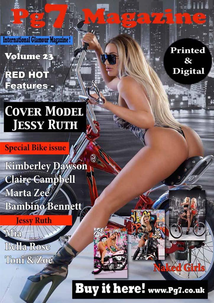 PG7 Magazine Volume 23 Featuring Jessy Ruth